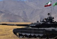 از اولین تانک ساخت ایران رونمایی شد