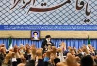 جمعی از مداحان اهل بیت (ع) با رهبر معظم انقلاب دیدار کردند