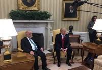 دیدار نخست وزیر عراق و ترامپ در کاخ سفید (عکس)