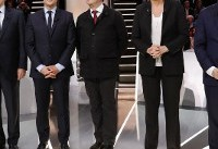 French election: Top candidates trade barbs in first debate