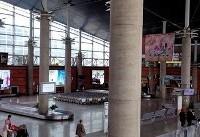 آقای وزیر... ستونهای فرودگاه را رنگ کنید! + تصاویر