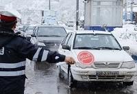 وضعیت راهها در اولین روز سال ۹۶ | بارش باران در محورهای ۷ استان | جادههای پر ترافیک