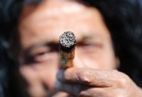 Israelis hold mass pot protest by parliament