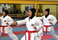 مدال نقره کاتای به تیم های مردان و زنان ایران تعلق گرفت