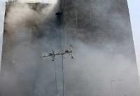 نجات اعضای دو خانواده از آتش توسط مامور فداکار +عکس