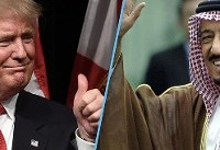 ترامپ آمریکا را به مقصد عربستان ترک کرد