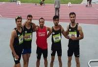 تیم چهار در صد متر معلولان مدال طلا گرفت/مجموع مدال ها به ۶۹ رسید