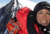 صعود پروانه کاظمی و سید هادی ستار فروغ به قله