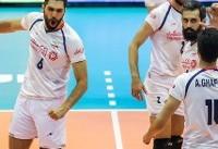 لیگ جهانی والیبال ۲۰۱۷؛ ایران ست نخست را به لهستان واگذار کرد