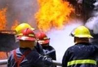 وقوع آتشسوزی گسترده در کارخانه تام فیلتر عباسآباد/ تلاش نیروها برای اطفای حریق