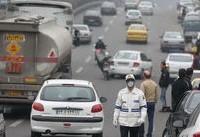 افزایش نگران کننده ازن در هوای تهران