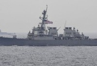 US destroyer, container vessel collide off Japan: Navy