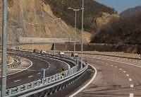 ساخت قطعه دو آزادراه تهران-شمال آغاز شد