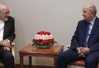 دیدار ظریف با نخست وزیر الجزایر (+عکس)