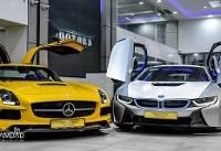 لاکچری ترین و گران ترین BMW و بنز موجود در کشور!