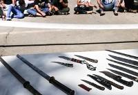 (تصاویر) دستگیری ۳۰ باند ۱۴۵ نفره اوباش تهران