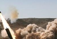 چهارمین ویدئوی شلیک موشک از ایران به دیرالزور سوریه