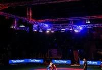 کشتی فرنگی قهرمانی جهان/پیروزی الیاسی و مردانی در نخستین مبارزه