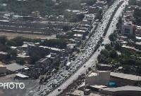 بارش باران در محورهای گیلان و مازندران / ترافیک در ورودی کلانشهرها