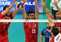 میرزاجانپور بهترین بازیکن ایران در دیدار با روسیه شد
