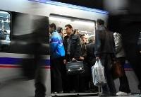 برقراری امنیت کامل در ایستگاه مترو شهرری/ مسافرگیری در حال انجام است
