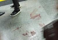 فوری / حمله چاقویی در مترو تهران (+عکس و فیلم)/ مهاجم به ضرب گلوله پلیس کشته شد