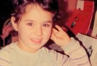 (تصاویر) مریم میرزاخانی در کودکی