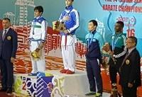 دو طلا ، دو نقره و یک برنز برای مردان کاراته ایران/ طلای حسن نیا به نقره تبدیل شد!