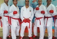 دو طلای کومیته تیمی حسن ختام درخشش کاراته ایران