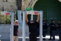 اقدامات شدید امنیتی رژیم صهیونیستی در مسجد الاقصی
