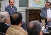 دیدار دبیر شواری عالی امنیت ملی با جانشین اقلیم کردستان عراق