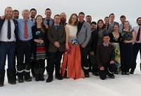 First ever wedding takes place in British Antarctic Territory
