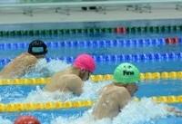 چهارمی تیم ایران در شنای چهار در ۵۰ متر تیمی