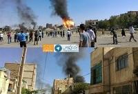 انفجار کپسول های گاز در شهریار تهران (+عکس)