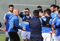 پاسخ منفی منصوریان به هواداران در تمرین امروز
