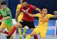 پیروزی گیتی پسند مقابل اوزاکا ژاپن/نماینده ایران صدرنشین صعود کرد