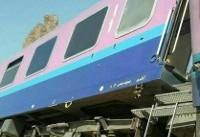 تصاویر خروج ۲ واگن قطار اهواز – مشهد از ریل