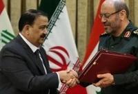 یادداشت تفاهم همکاریهای دفاعی- نظامی میان ایران و عراق امضاء شد