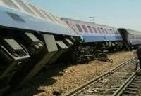 ۱۰ مصدوم در حادثه خارج شدن قطار اهواز – مشهد از ریل