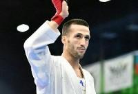 کسب نخستین نقره تاریخی بازیهای جهانی کاراته توسط امیر مهدیزاده