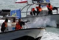 شلیک اخطاردهنده ناو آمریکایی به قایق گشتی ایرانی