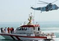 برخورد کشتی تجاری با قایق نیروی دریایی امارات