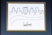 ترامپ نقاشی بچگانهاش را به مزایده گذاشت!