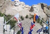ترامپ مجسمه خود را روی کوه راشمور میتراشد؟! +عکس