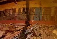 ریزش ساختمان در هند ۱۷ قربانی گرفت