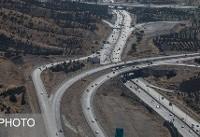 انسداد ۶ محور کشور به علت ریزش پل