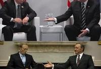 شبیه سازی دیدار ۲ و نیم ساعته ترامپ و پوتین (+عکس)