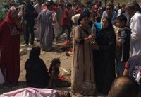 ۲۹ کشته در برخورد دو قطار مصری+ عکس