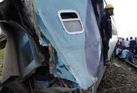 (تصاویر) تصادف مرگبار دو قطار در اسکندریه