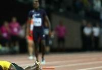 خداحافظی تراژیک بولت / سریعترین مرد جهان به خط پایان نرسید